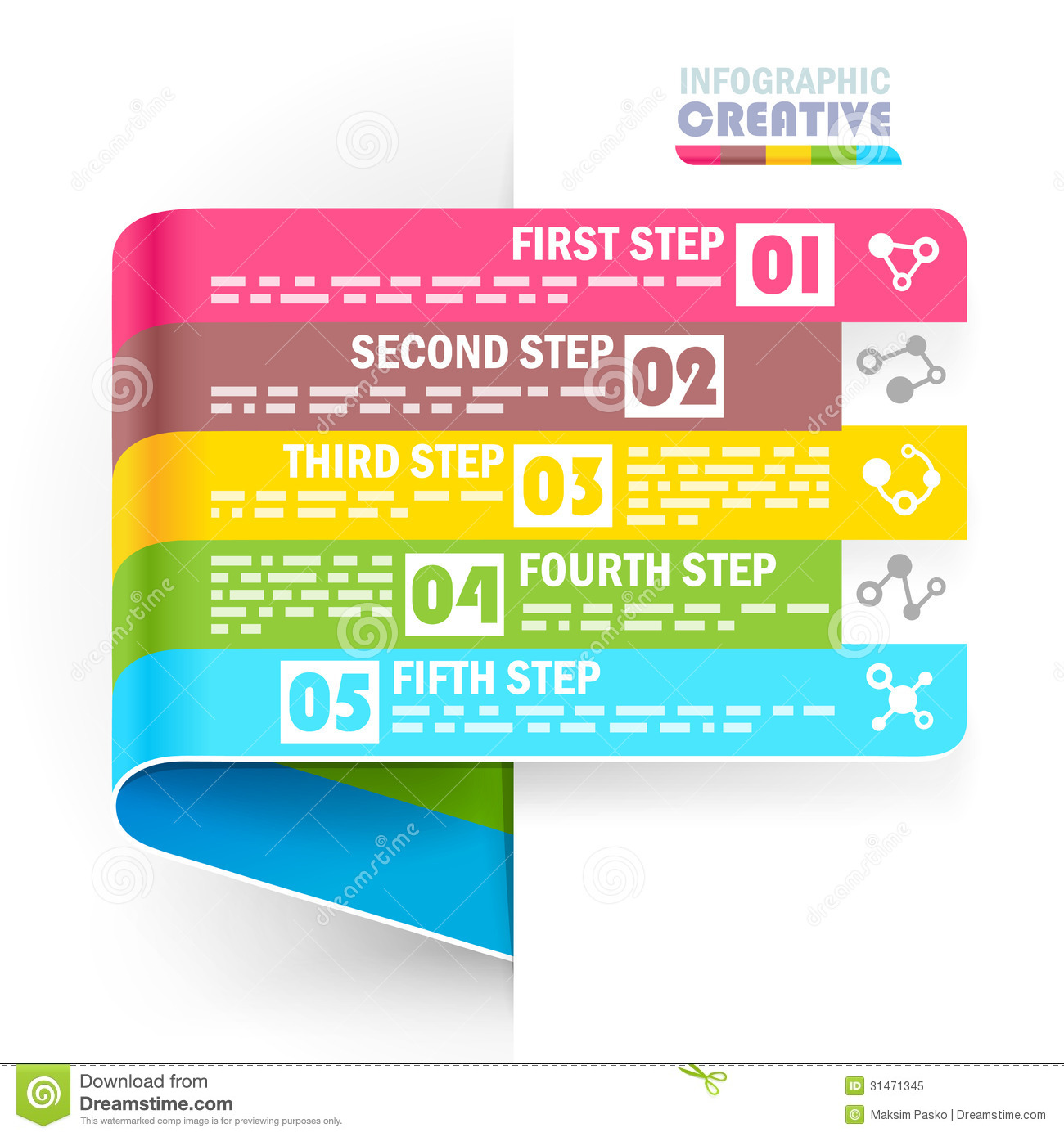 Creative Design Pattern Royalty Free Stock Photo