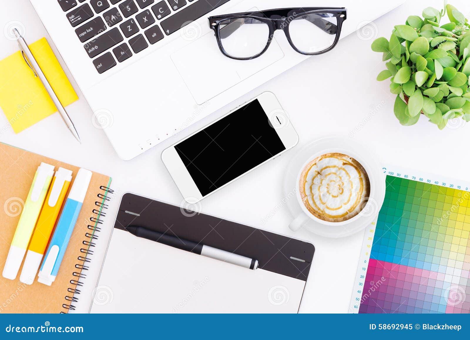 creative designer desk ...