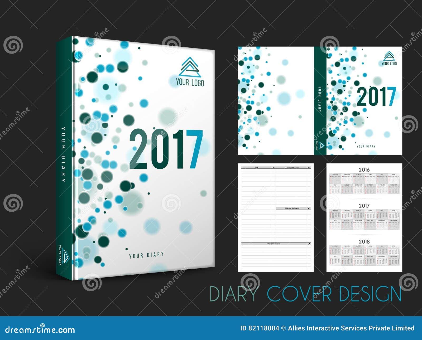 Creative Diary Cover Design