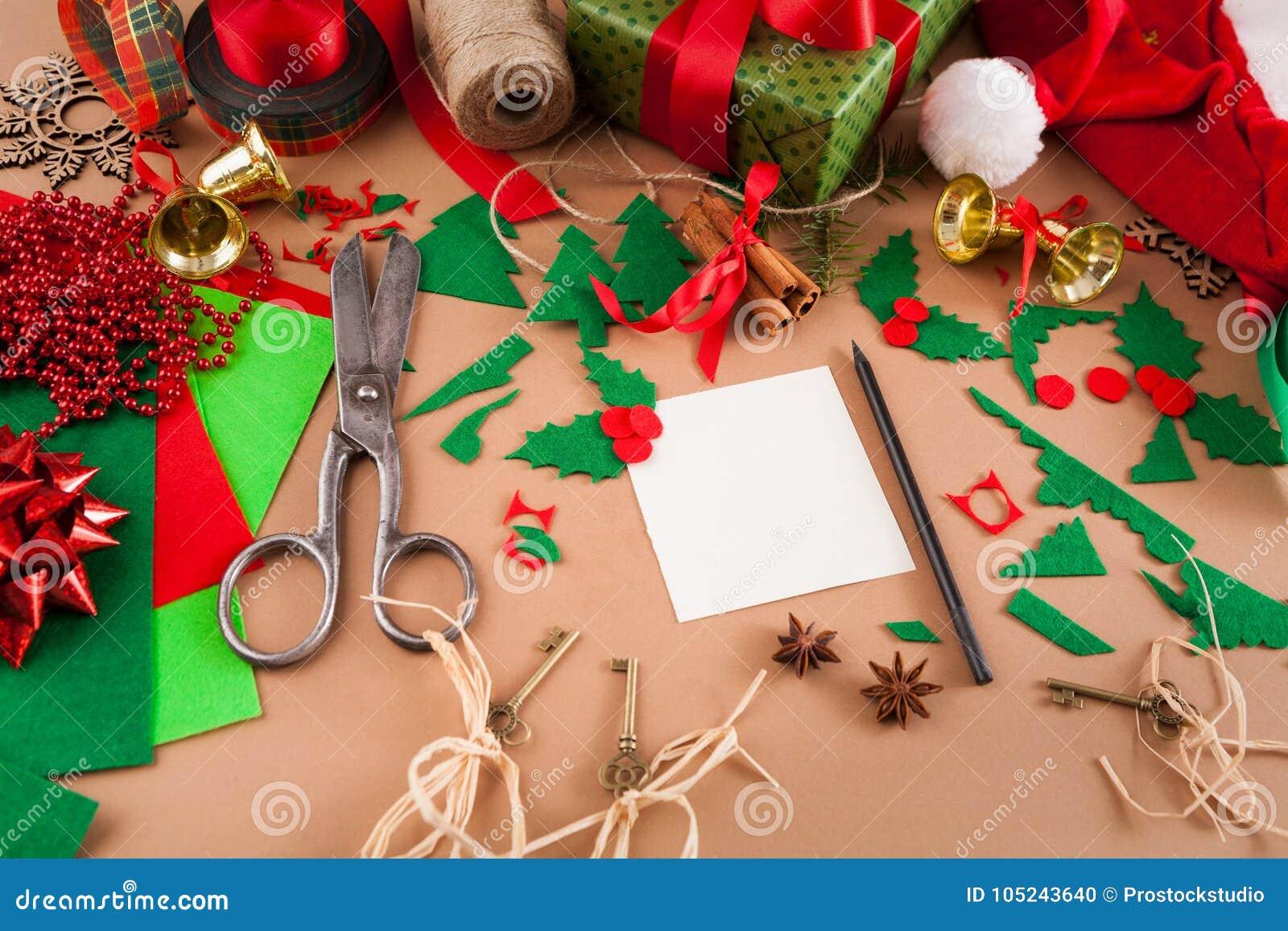 Creative Diy Hobby Christmas Decoration Of Handmade Greetings Card