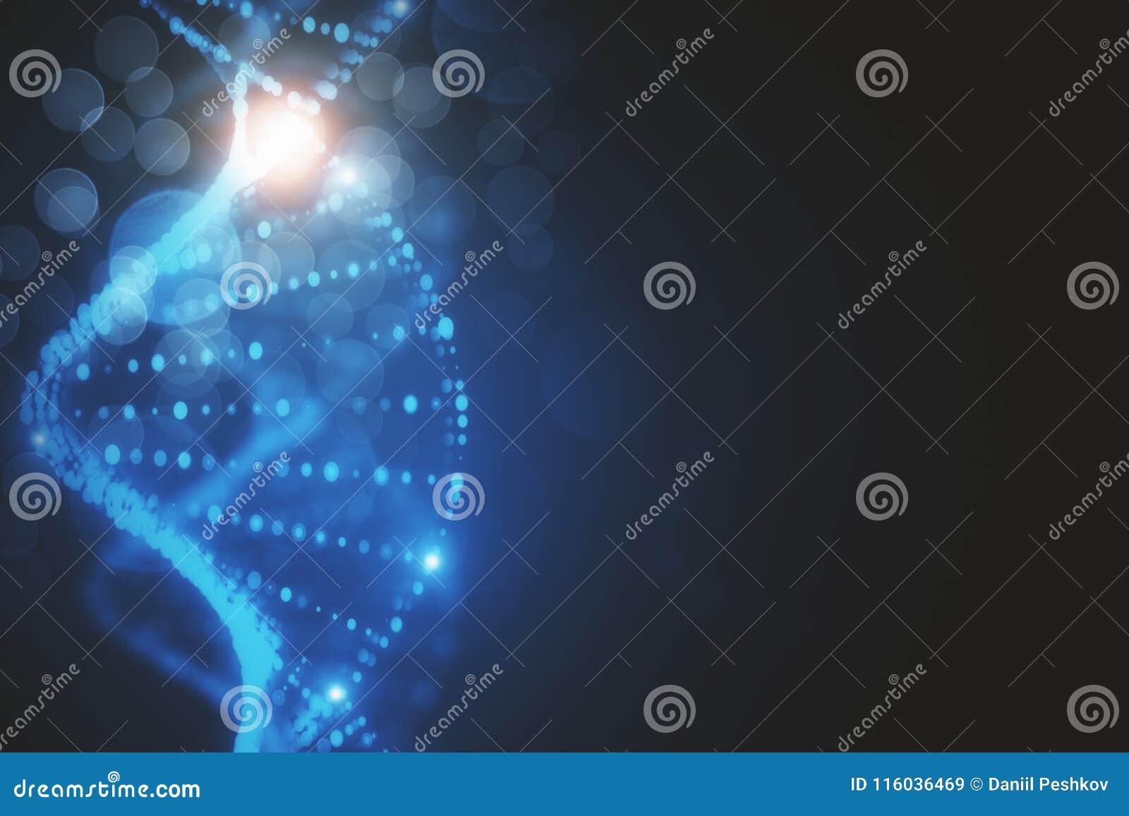 Creative DNA Wallpaper Stock Illustration Of