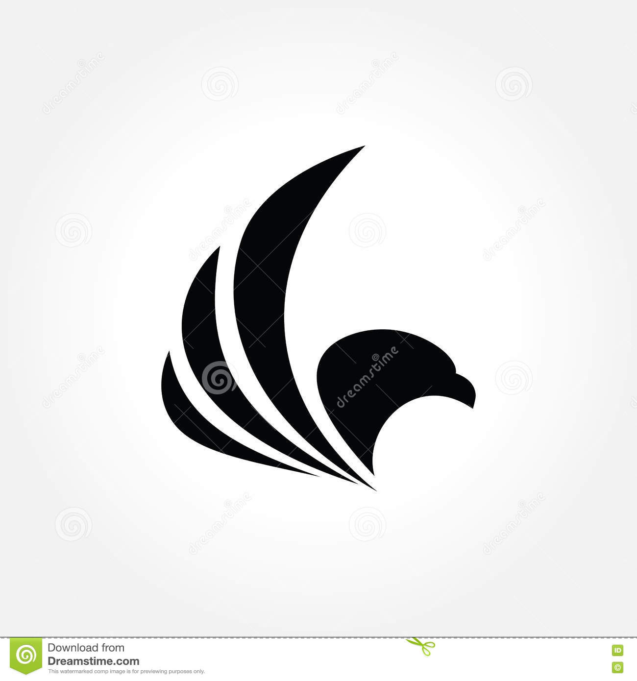 Creative eagle symbol vector illustration stock vector creative eagle symbol vector illustration letter agency biocorpaavc Gallery