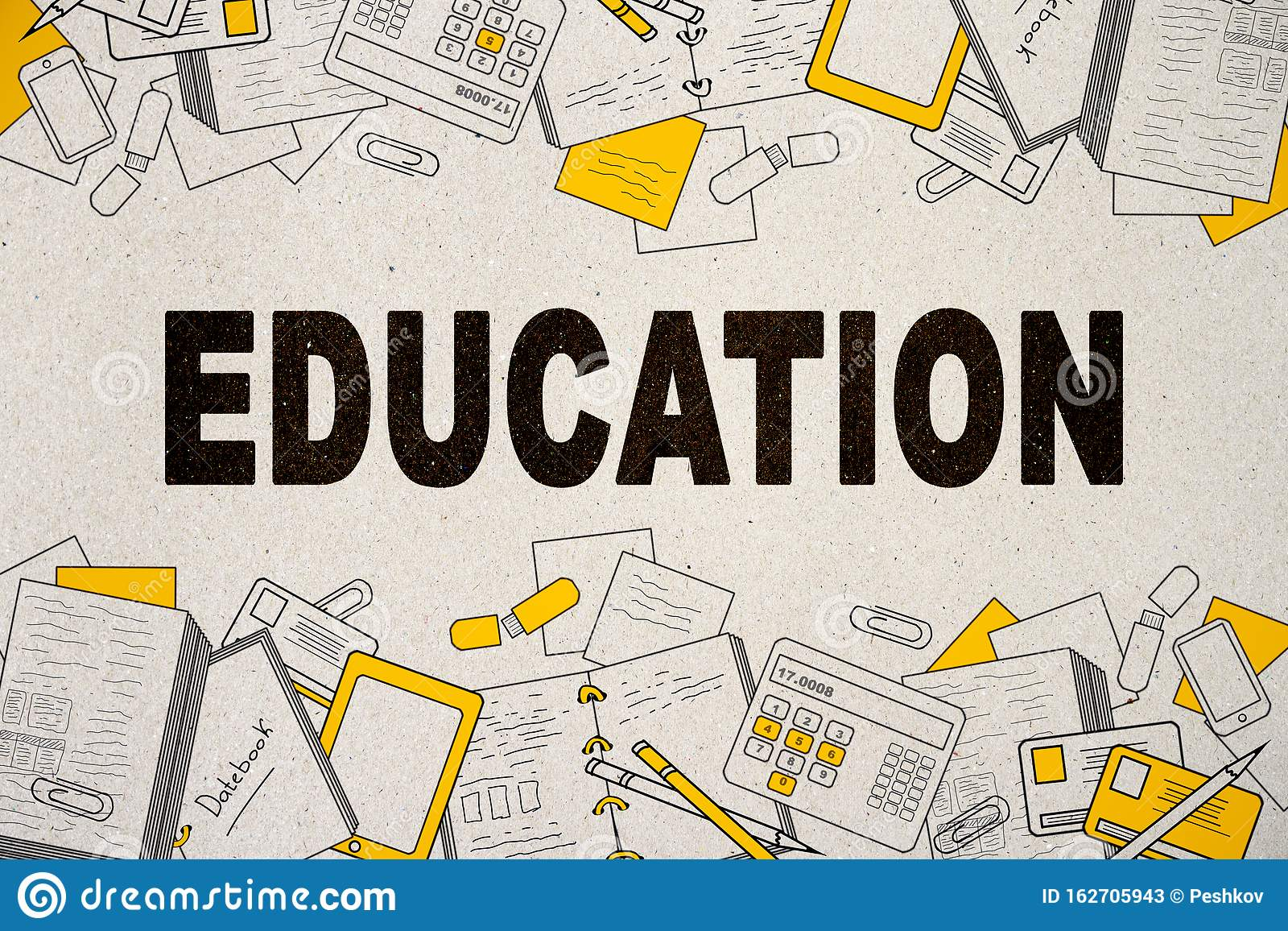 Creative Education Wallpaper Stock Illustration Illustration Of Achieve Background 162705943