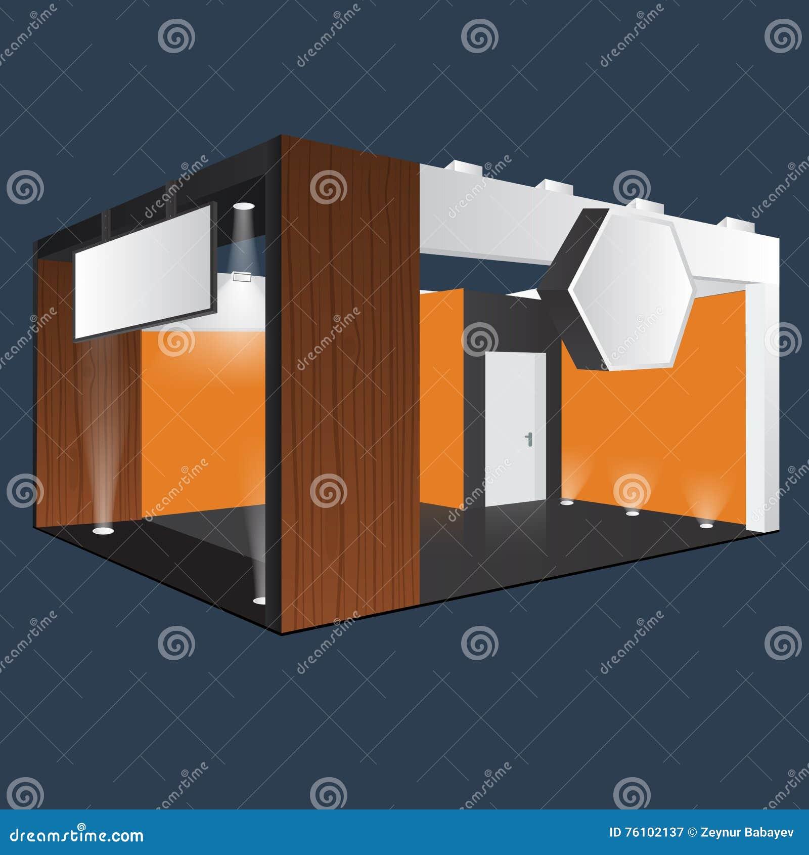 Exhibition Stand Design Furniture : Creative exhibition stand design booth template corporate