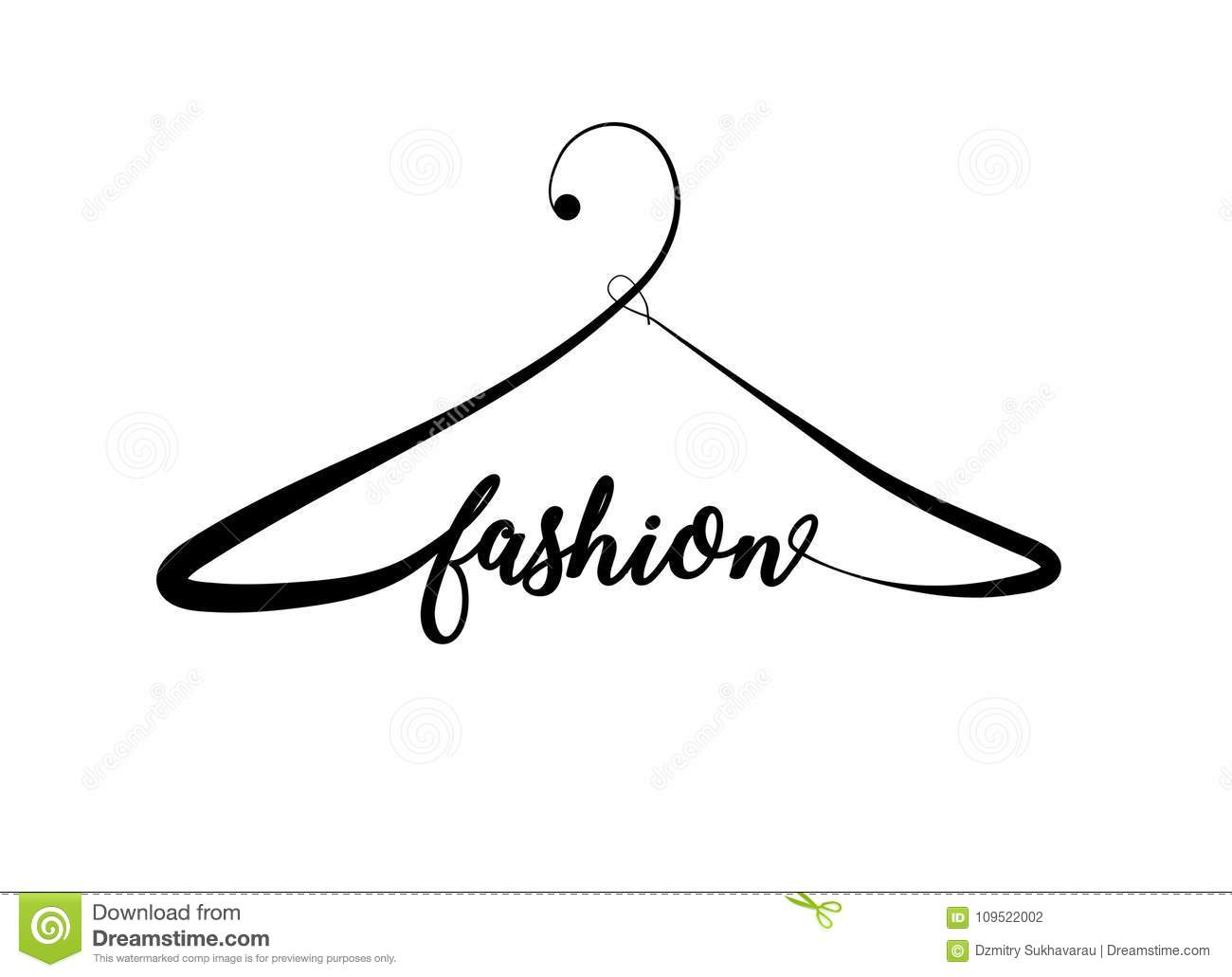 Creative Fashion Logo Design Stock Illustration Illustration Of Creative Graphic 109522002