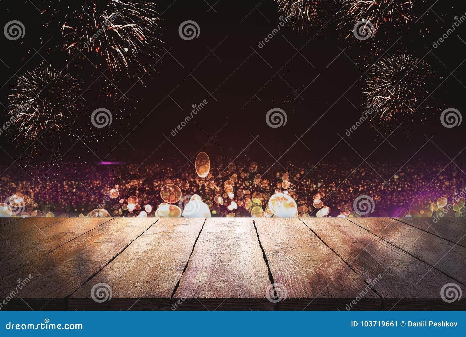 Creative firework wallpaper