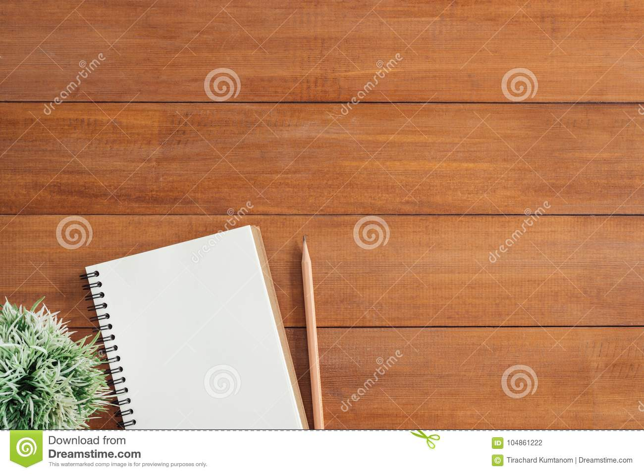 Creative flat lay photo of workspace desk. Office desk wooden table background with open mock up notebooks and pens.
