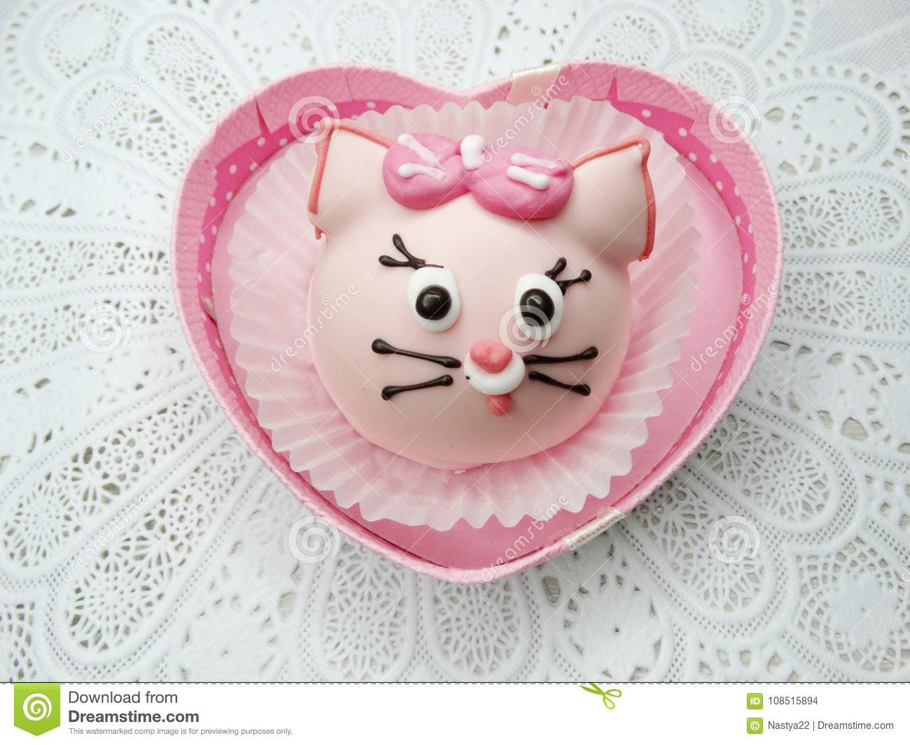 Creative Funny Animal Form Cakes Sweet Food Dessert In Gift