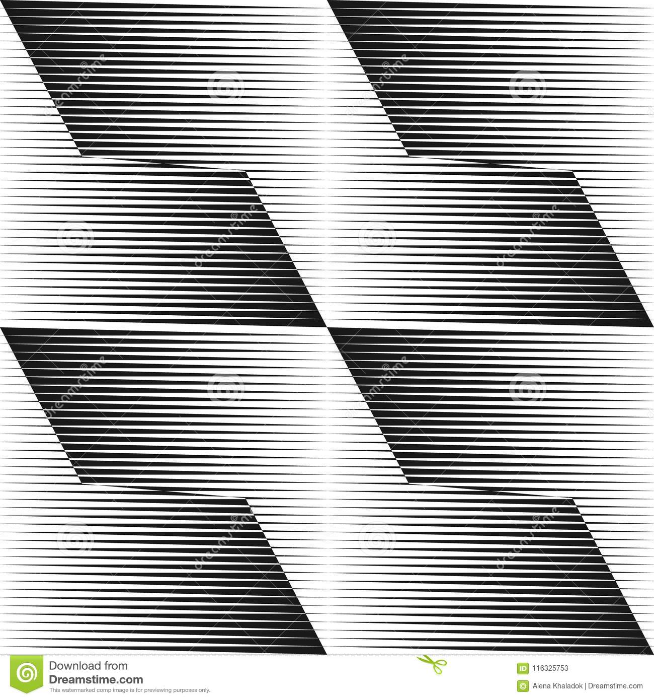 Abstract halftone lines background.