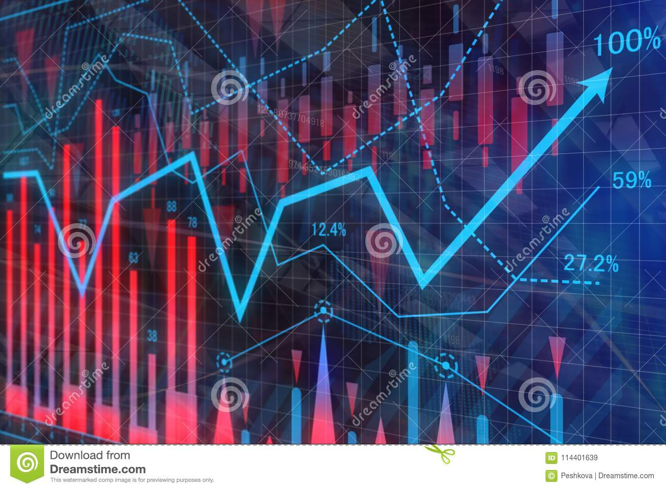 Creative Forex Wallpaper Stock Illustration Of