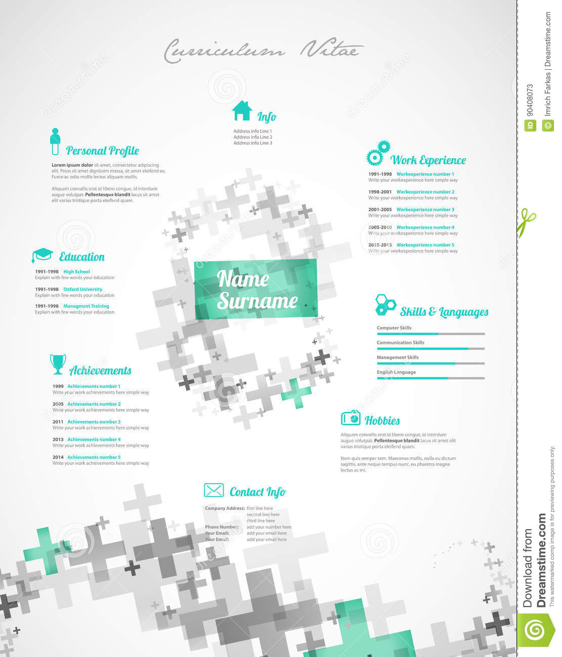 Free Color Resume Templates  JoliVibramusicCo