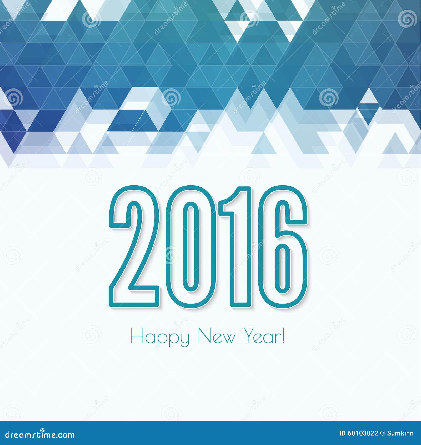 Happy New Year Flat Design 29