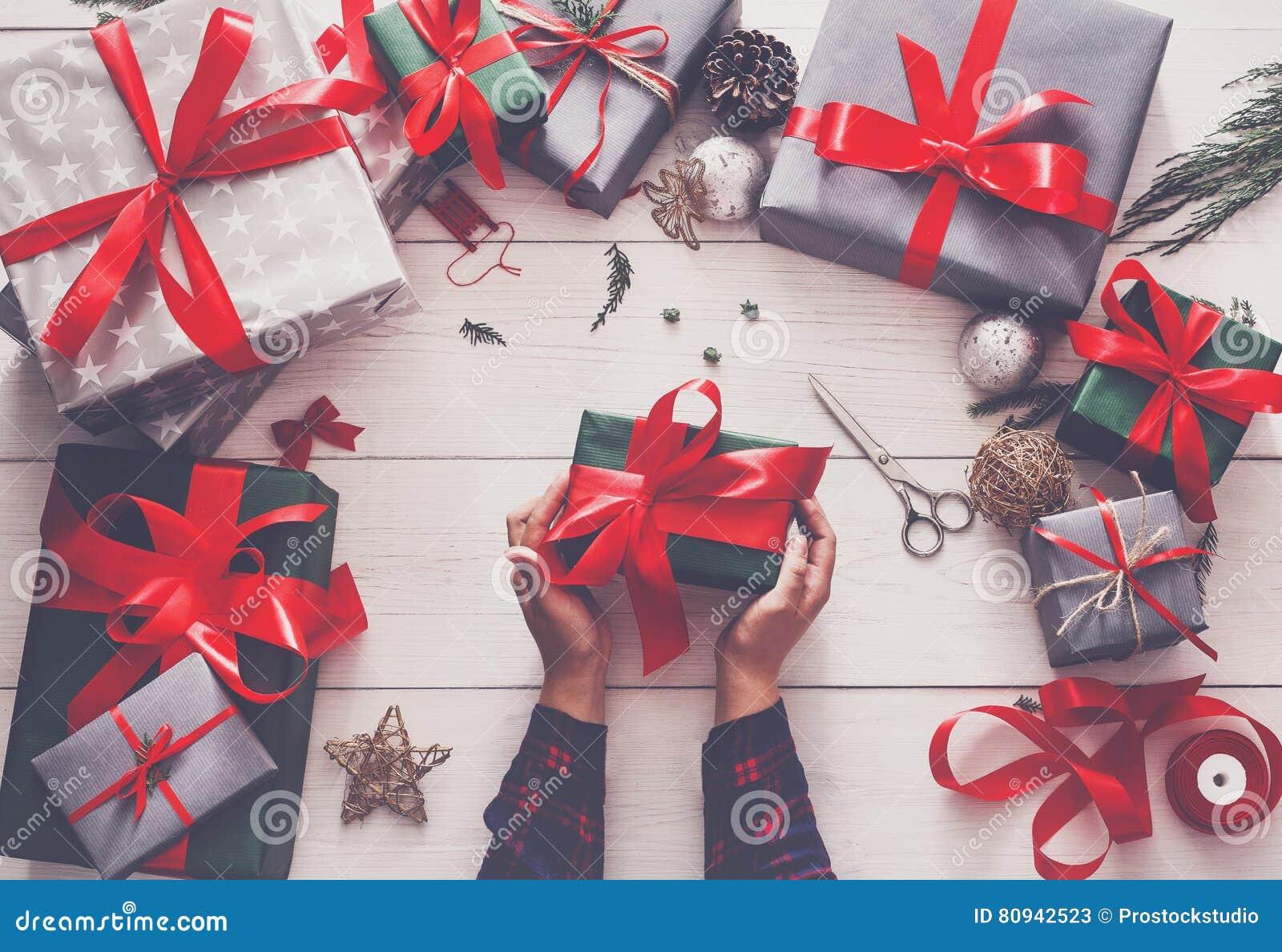 Creative Hobby Wrapping Modern Handmade Christmas Present