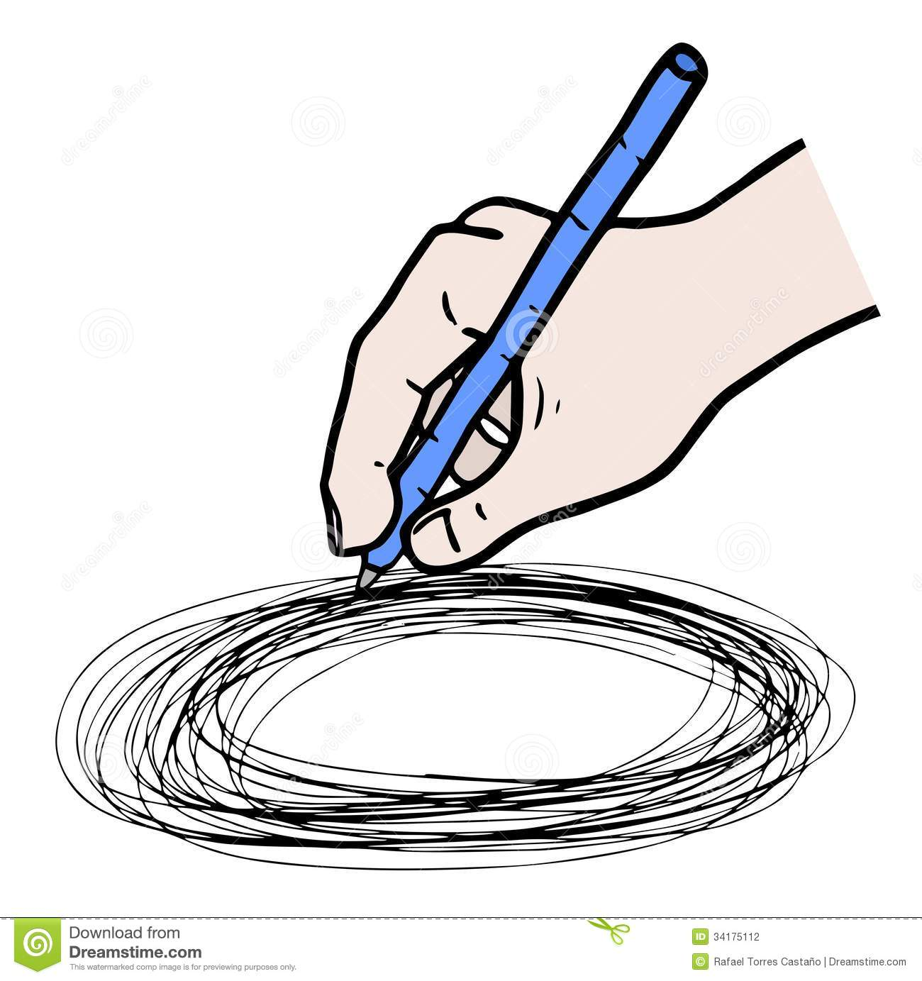 how to draw a hole