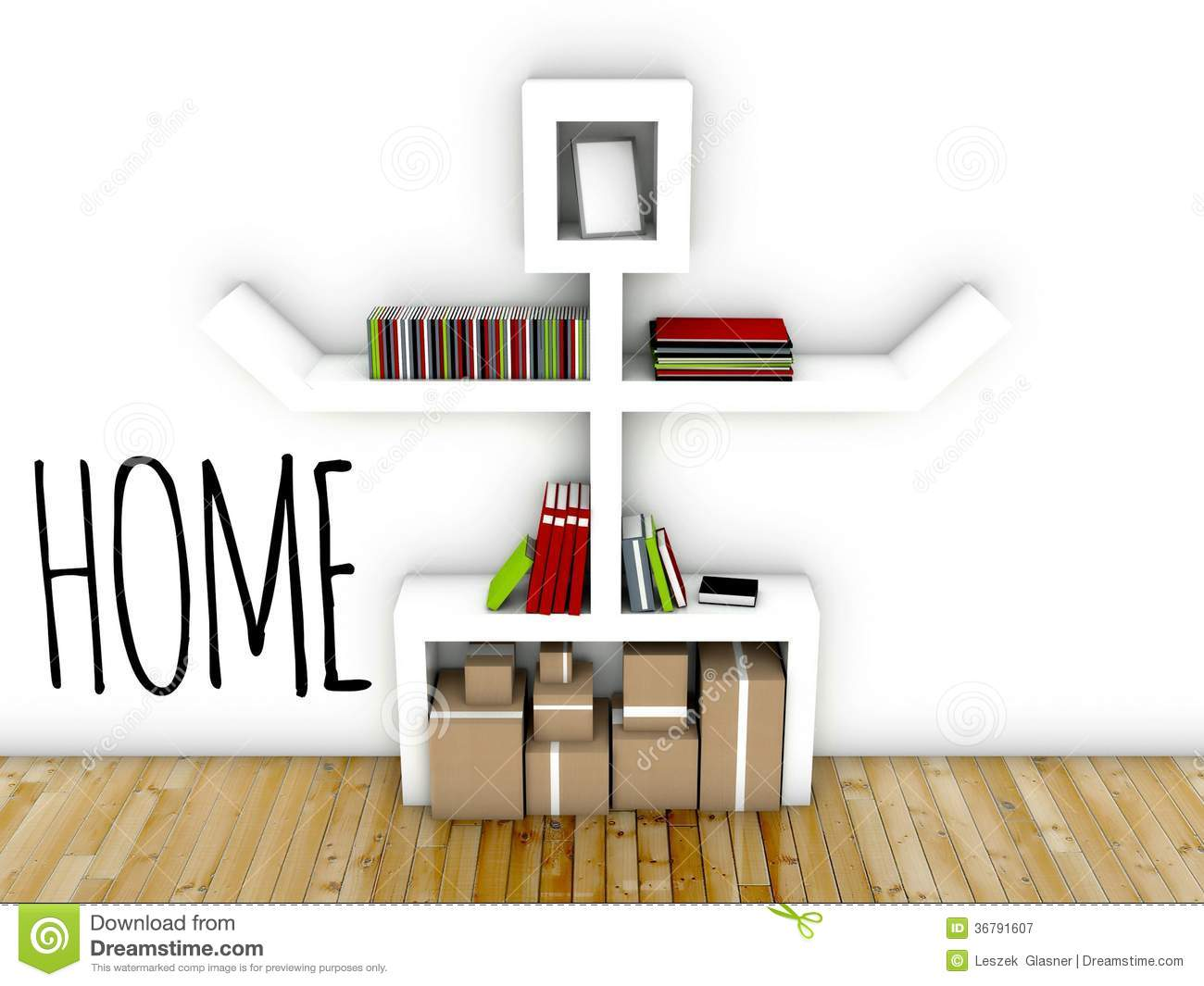 Royalty Free Stock Photo Creative Design Home Idea Interior