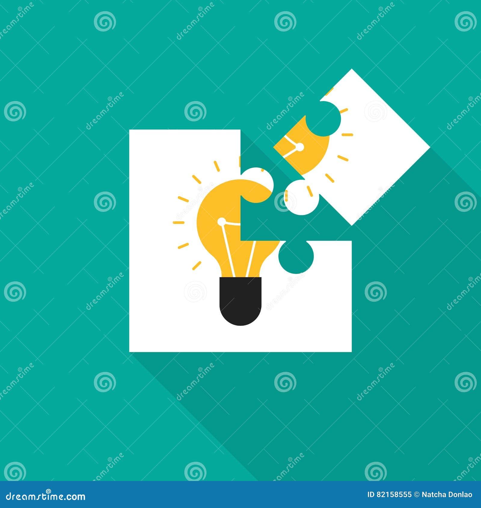 Creative Idea Concept Inspiration Process Vector Illustration
