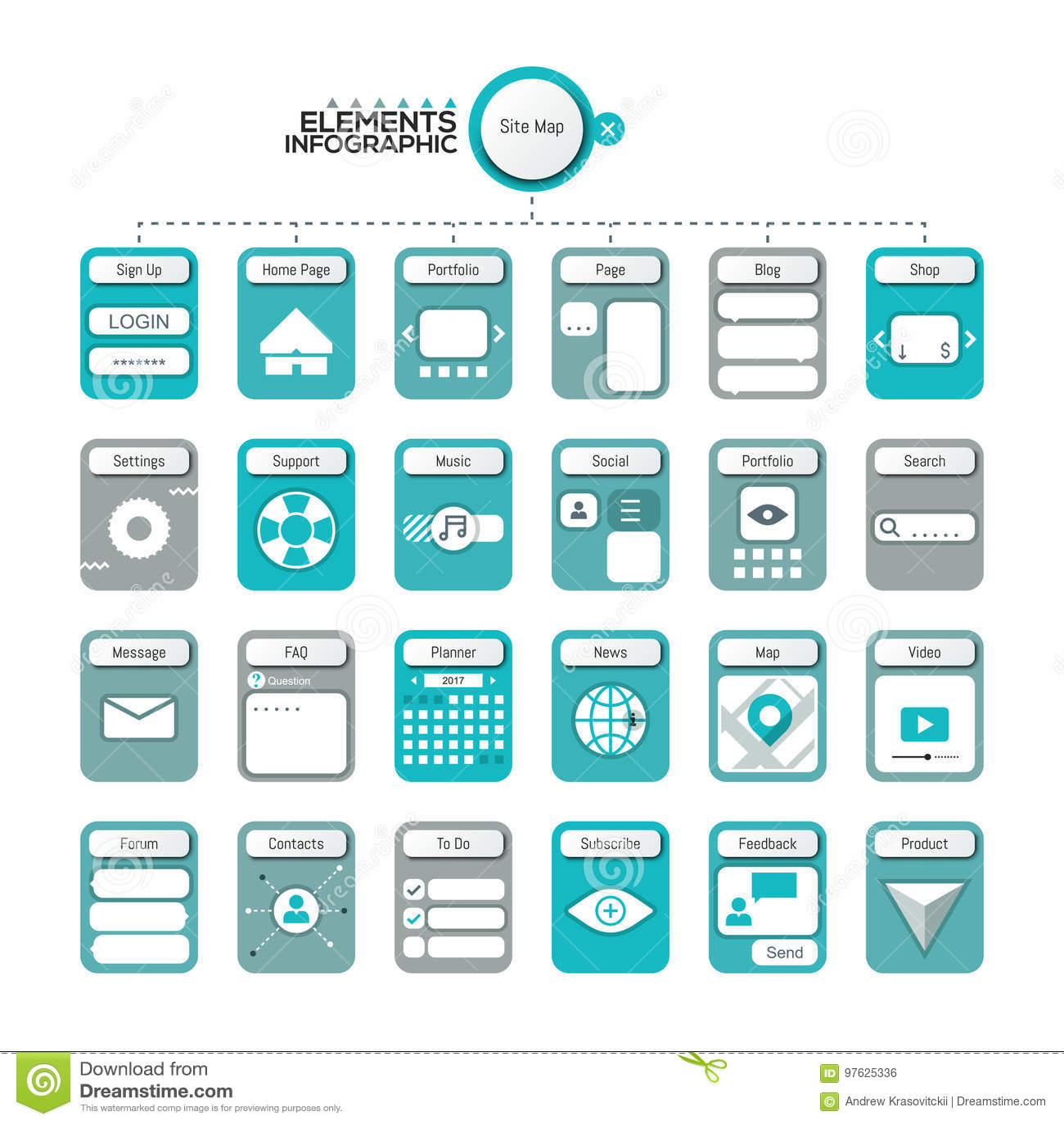 Creative infographic design template.