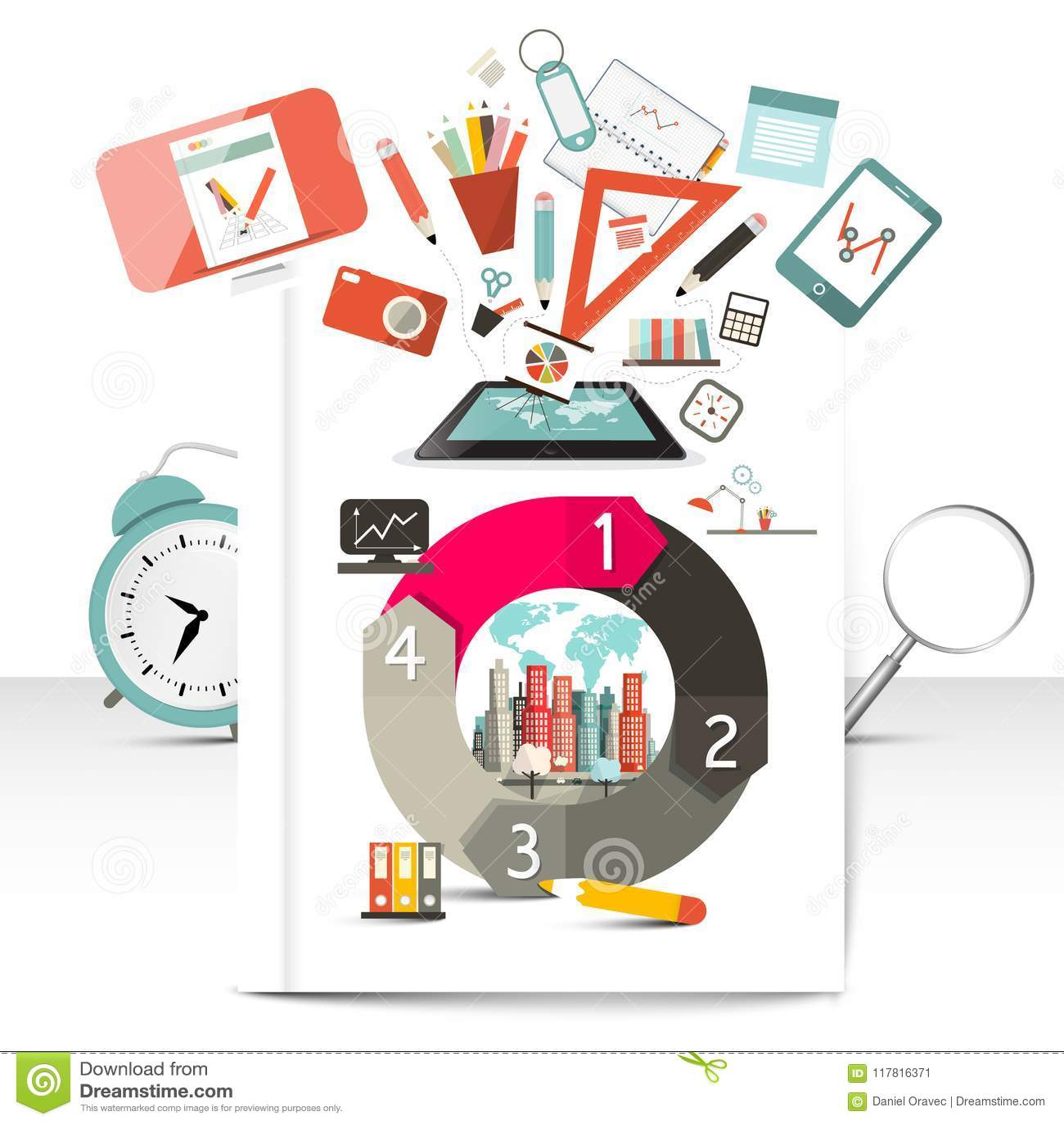 Creative Infographic Items.