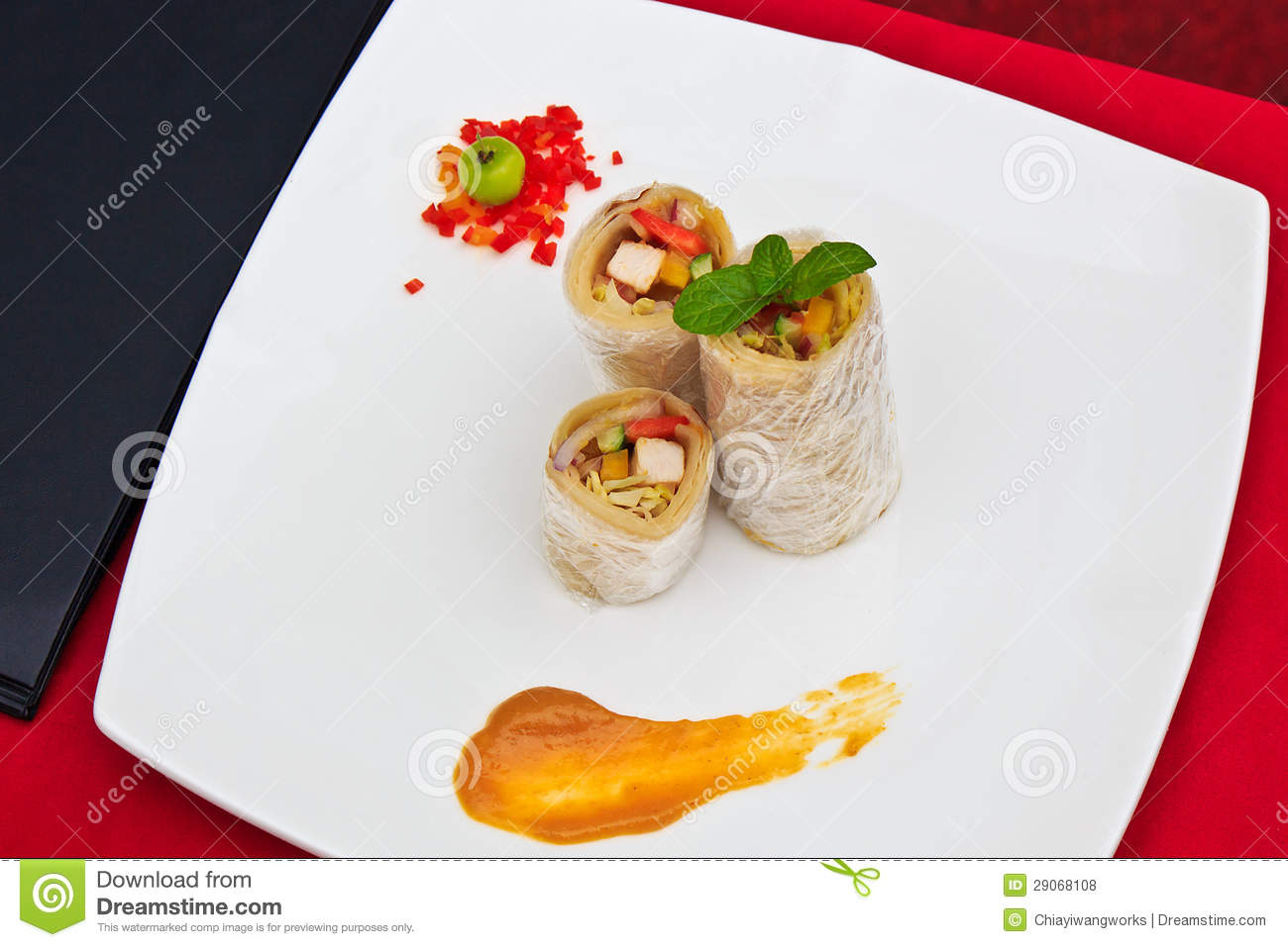 Creative japanese cuisine royalty free stock photos for Creation cuisine