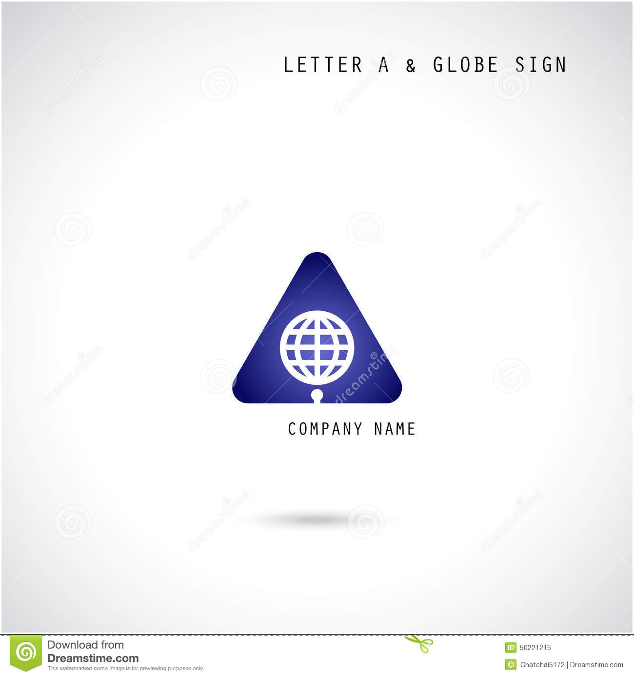 Creative letter a icon abstract logo design vector for Industrial design company