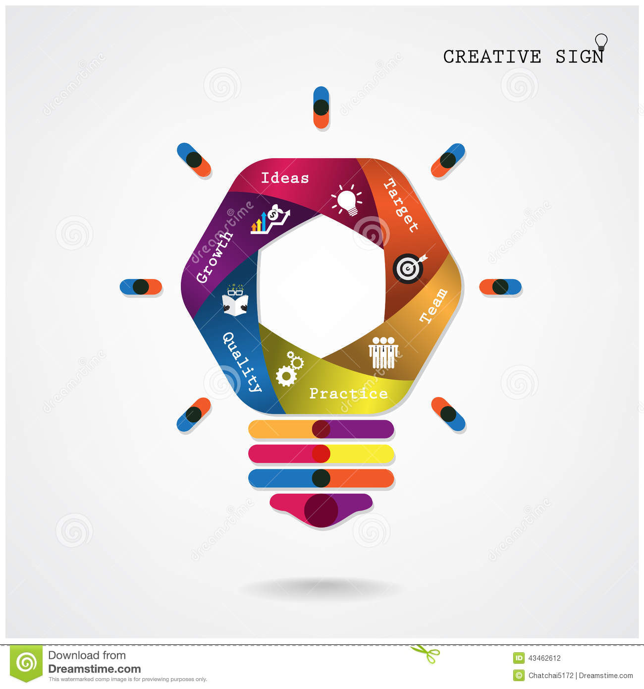 creative light bulb idea concept background - Poster Design Ideas