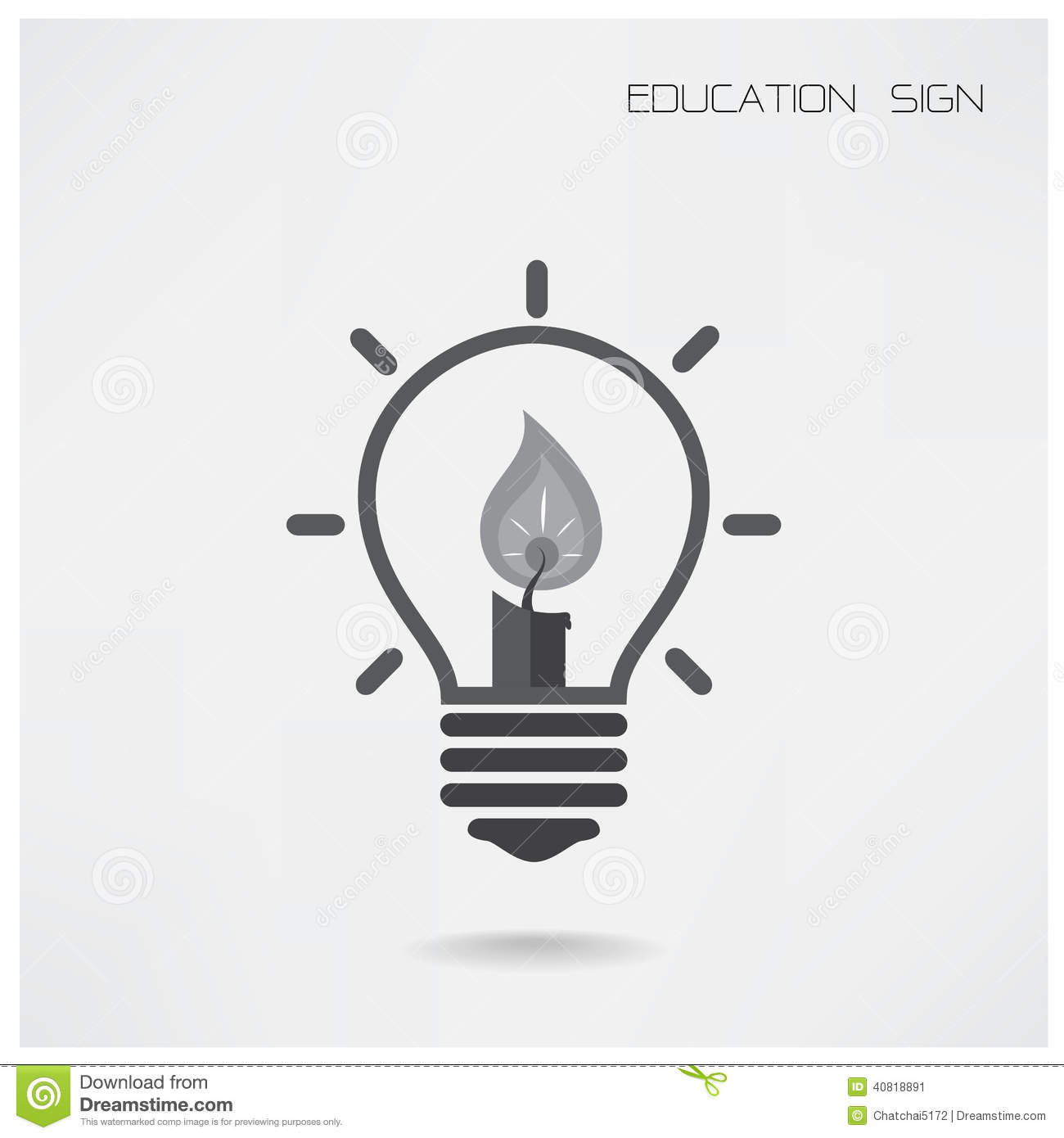 Creative Light Bulb Idea Concept,education Concept ...