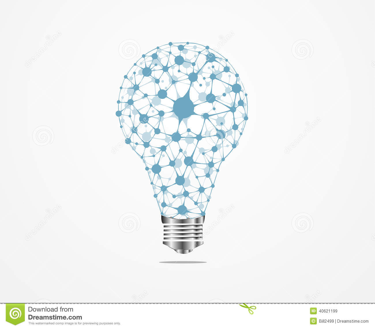 creative light bulb idea medical royalty