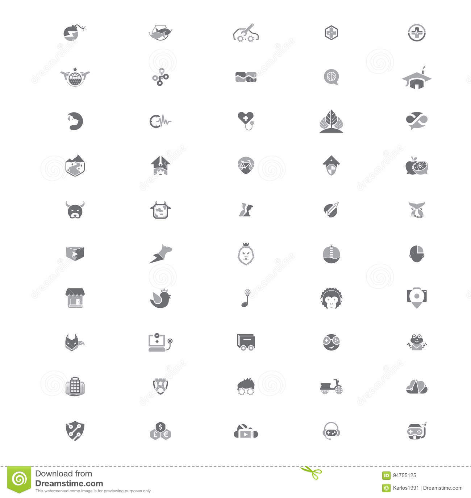 50 Creative Logo Templates V2
