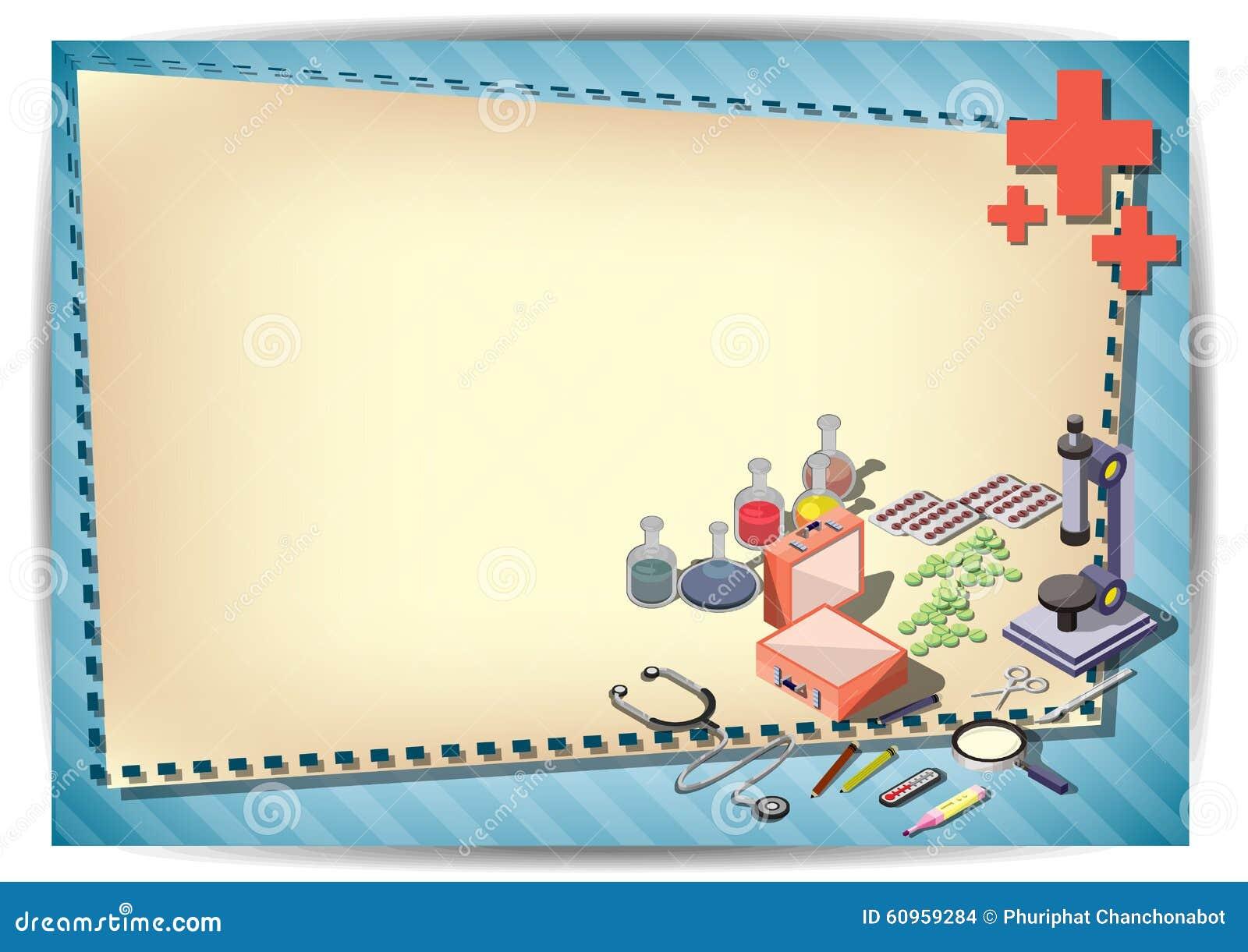 Medical Flyer Template Or Brochure Design Photo Image – Paper Design Template