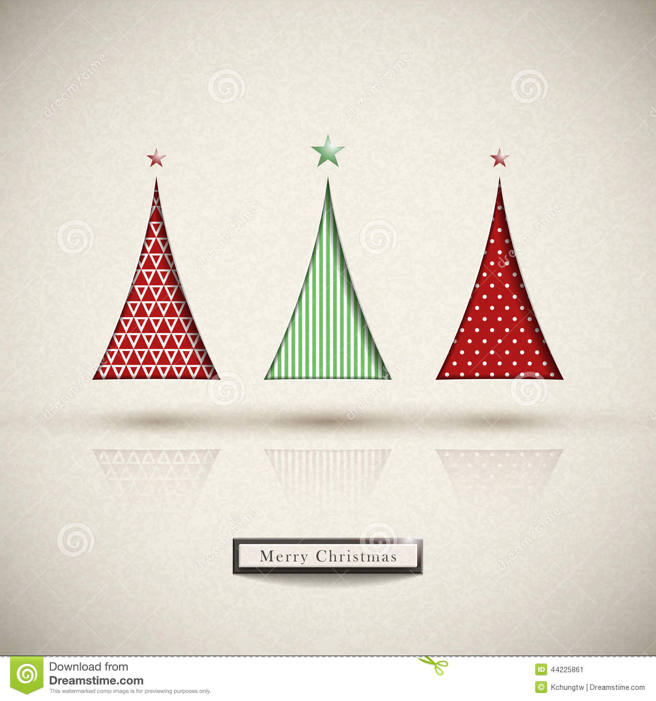 Creative modern design christmas tree stock vector illustration of creative modern design christmas tree m4hsunfo