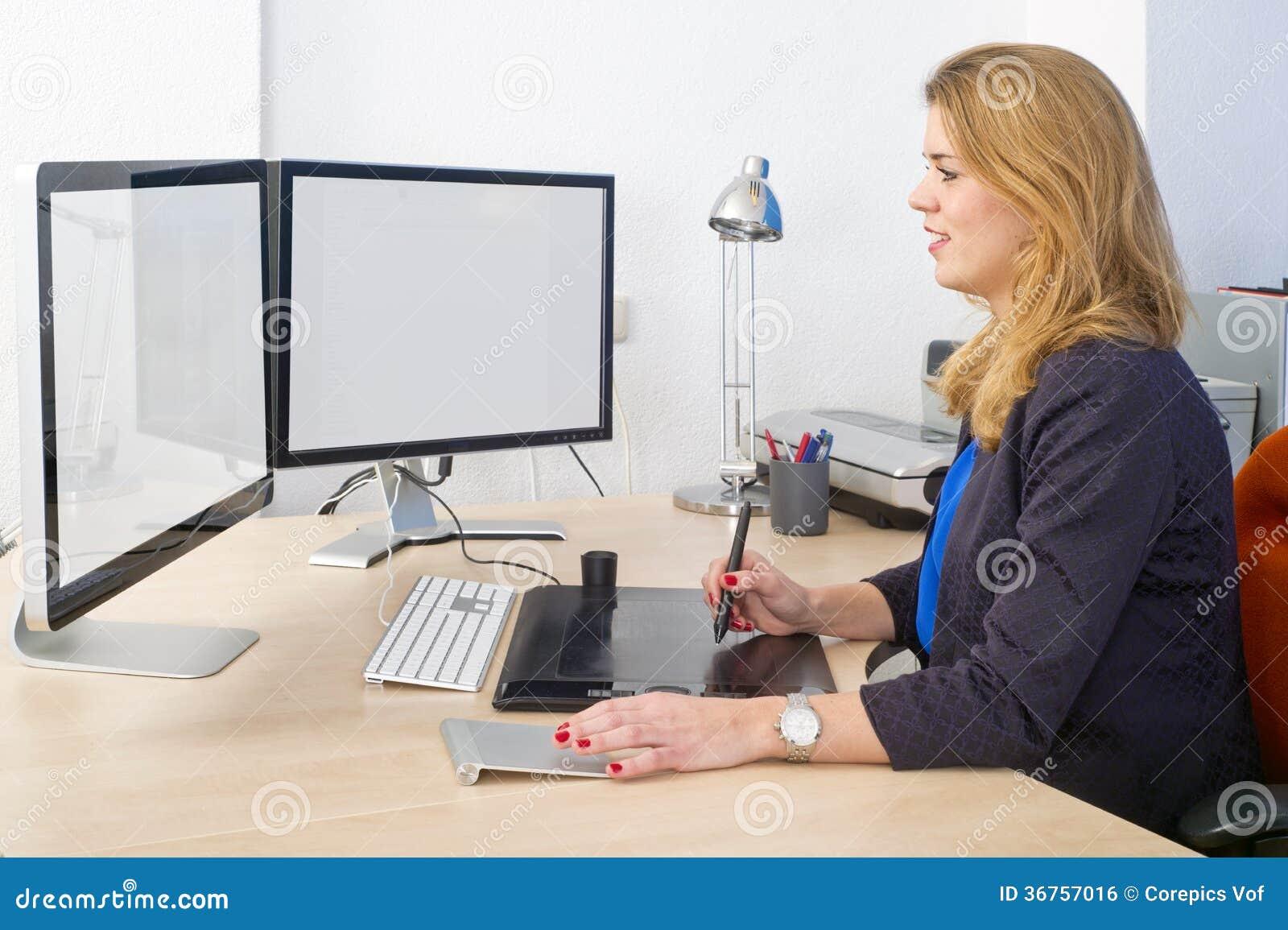Creative office work
