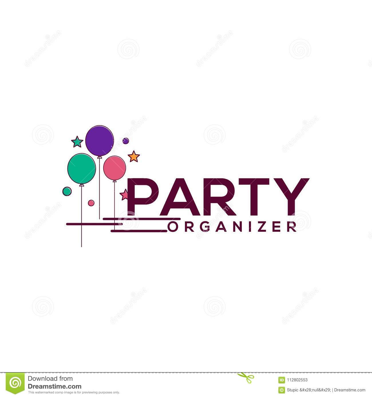 creative party logo design vector art logo stock illustration illustration of abstract decoration 112802553 https www dreamstime com creative party logo design various used purposed just you great people creative party logo design vector art logo image112802553