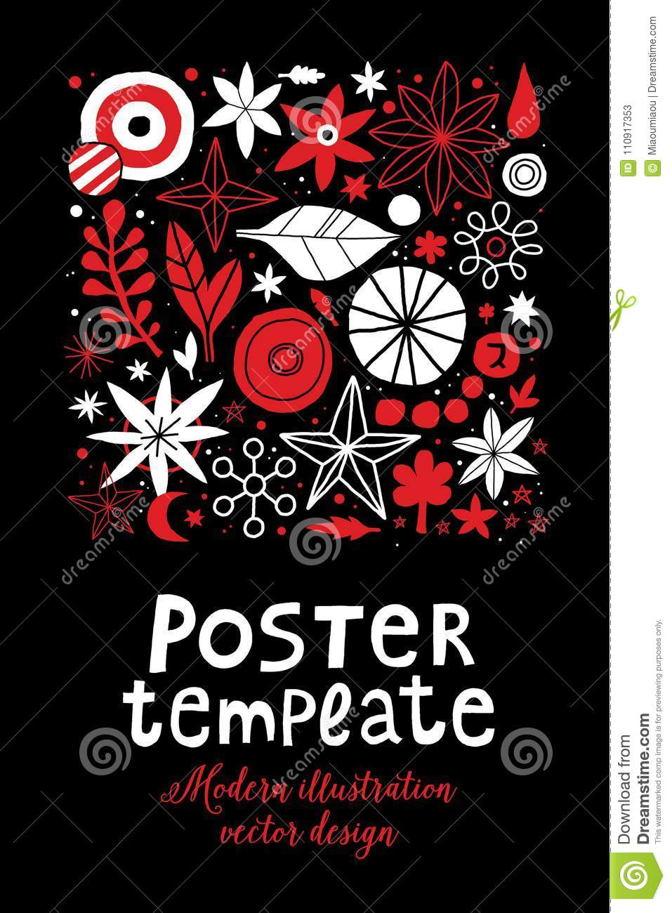 Creative Poster Template With Flowers And Abstract Hand Drawn Elements Can Be Used For Advertising Graphic Design Stock Vector Illustration Of Simple Bright 110917353,Wedding Henna Designs