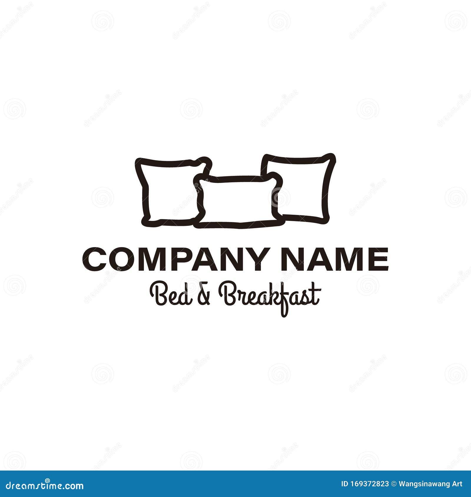 Creative Premium Pillow Furniture Logo Ideas. Inspiration ...