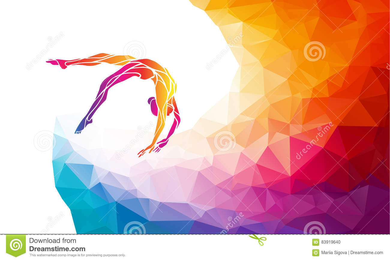 Gymnastic Cartoons Illustrations Amp Vector Stock Images