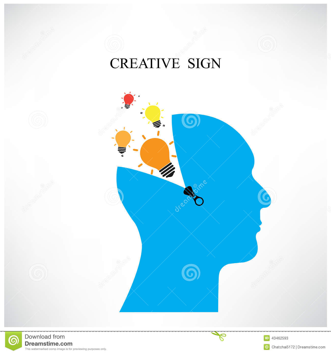 Creative Silhouette Head Background ,design For Poster ...