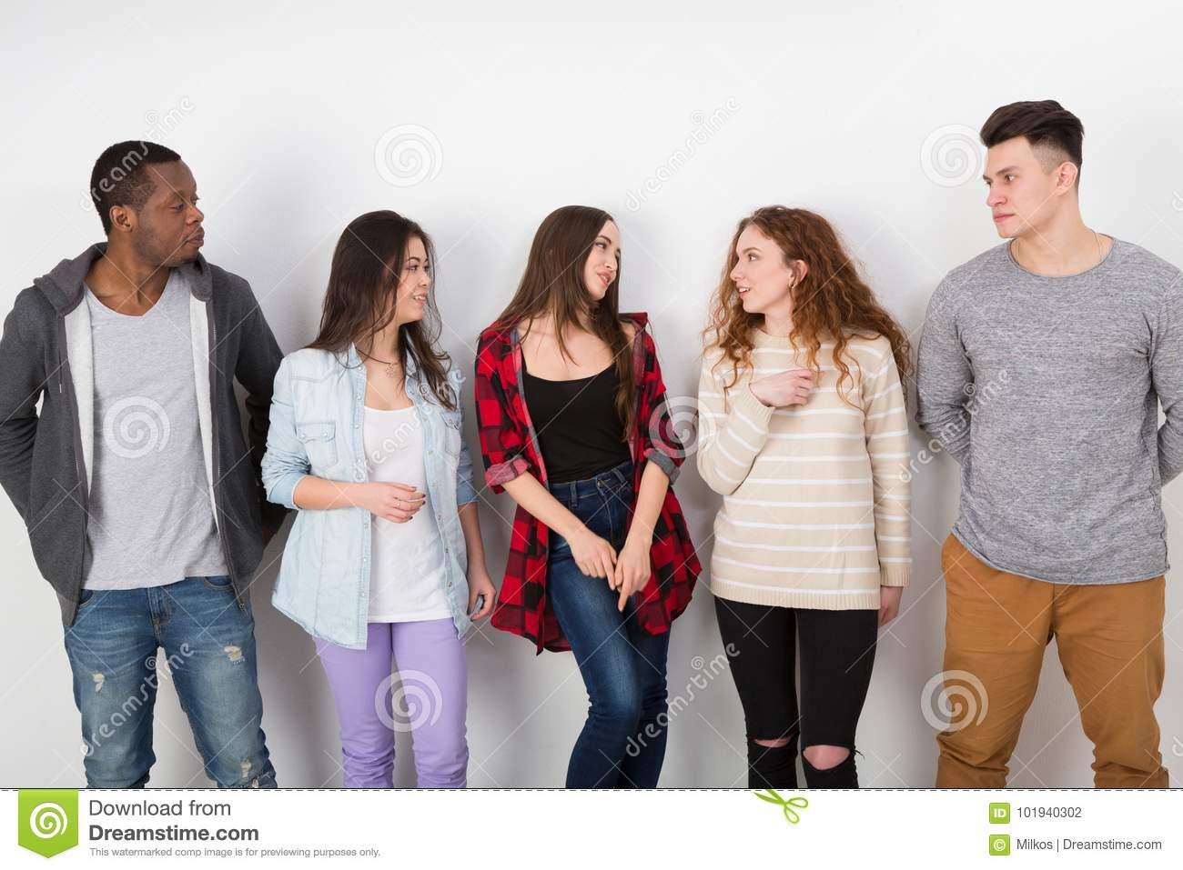 Download Creative Team Young Casual Business People Stock Photo