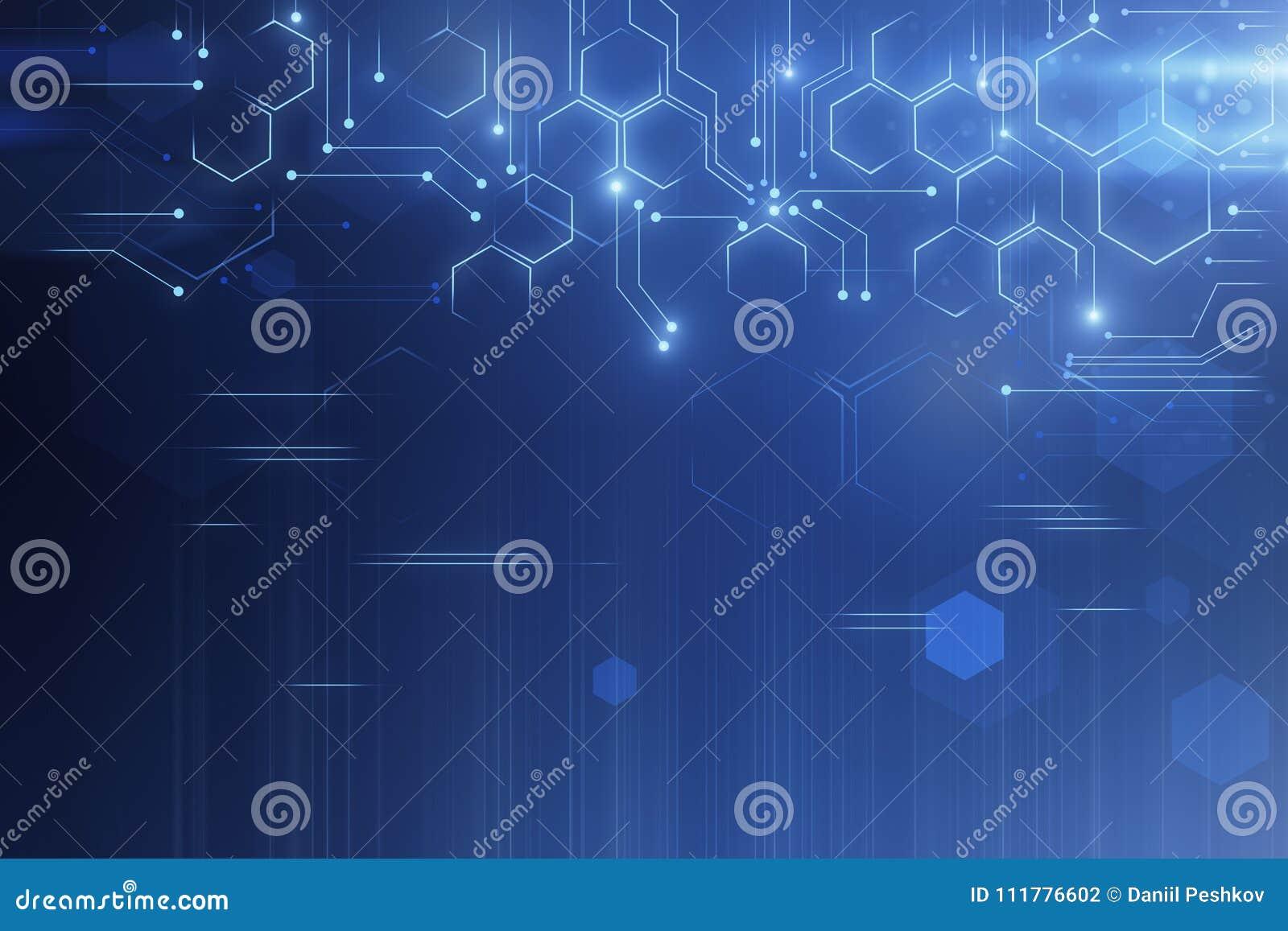 Creative tech background