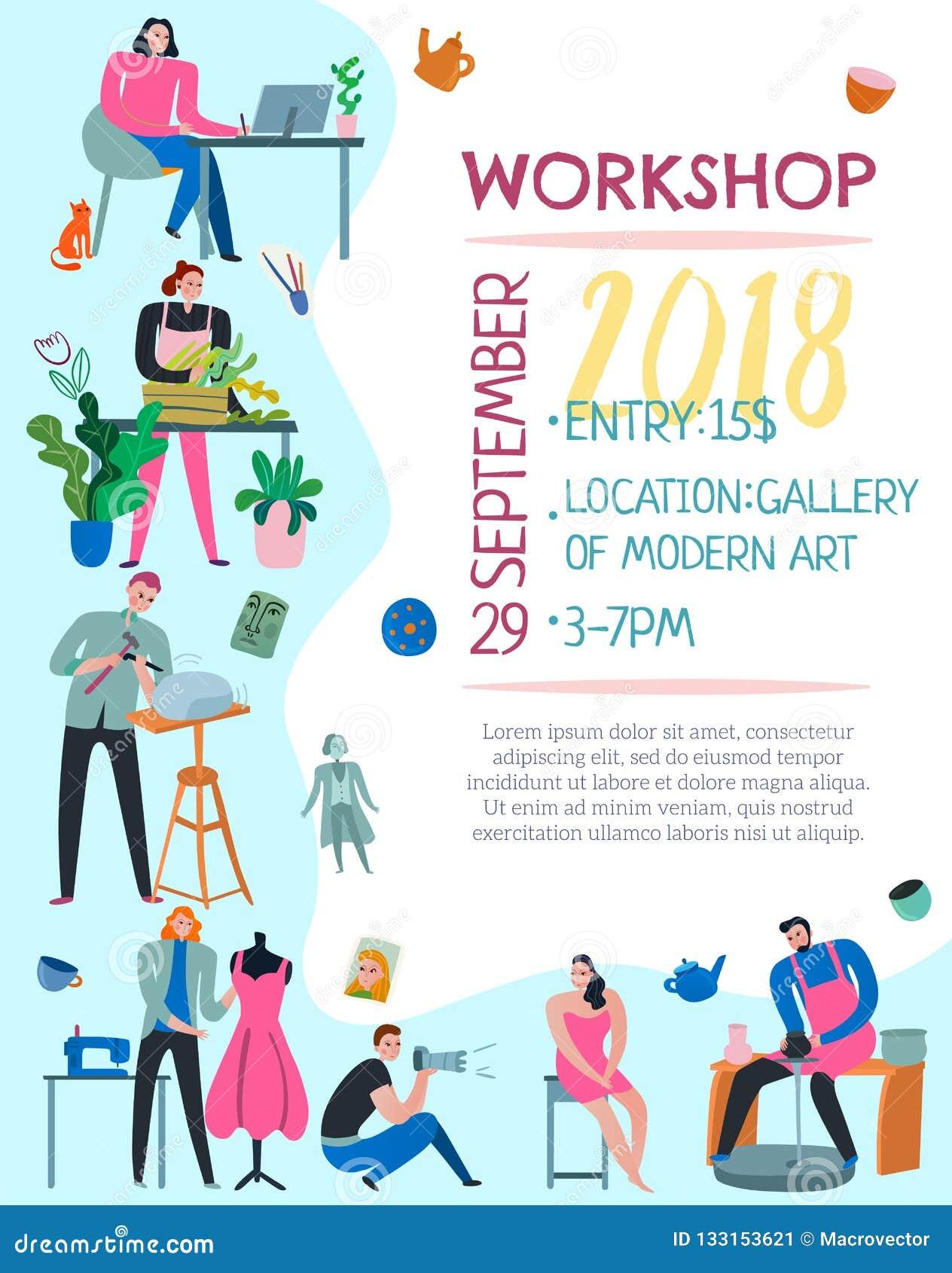 Art Workshop Poster