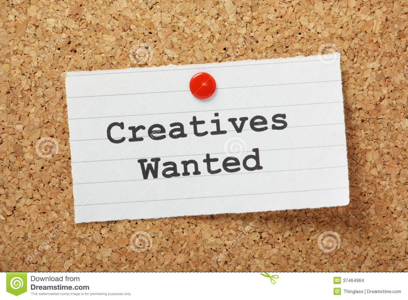 Creatives wanted stock images image 37464964 for Creative notice board