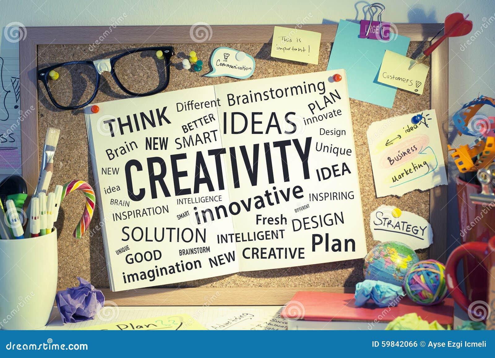 Creativity Innovation Ideas Business Solutions Stock Photo ...