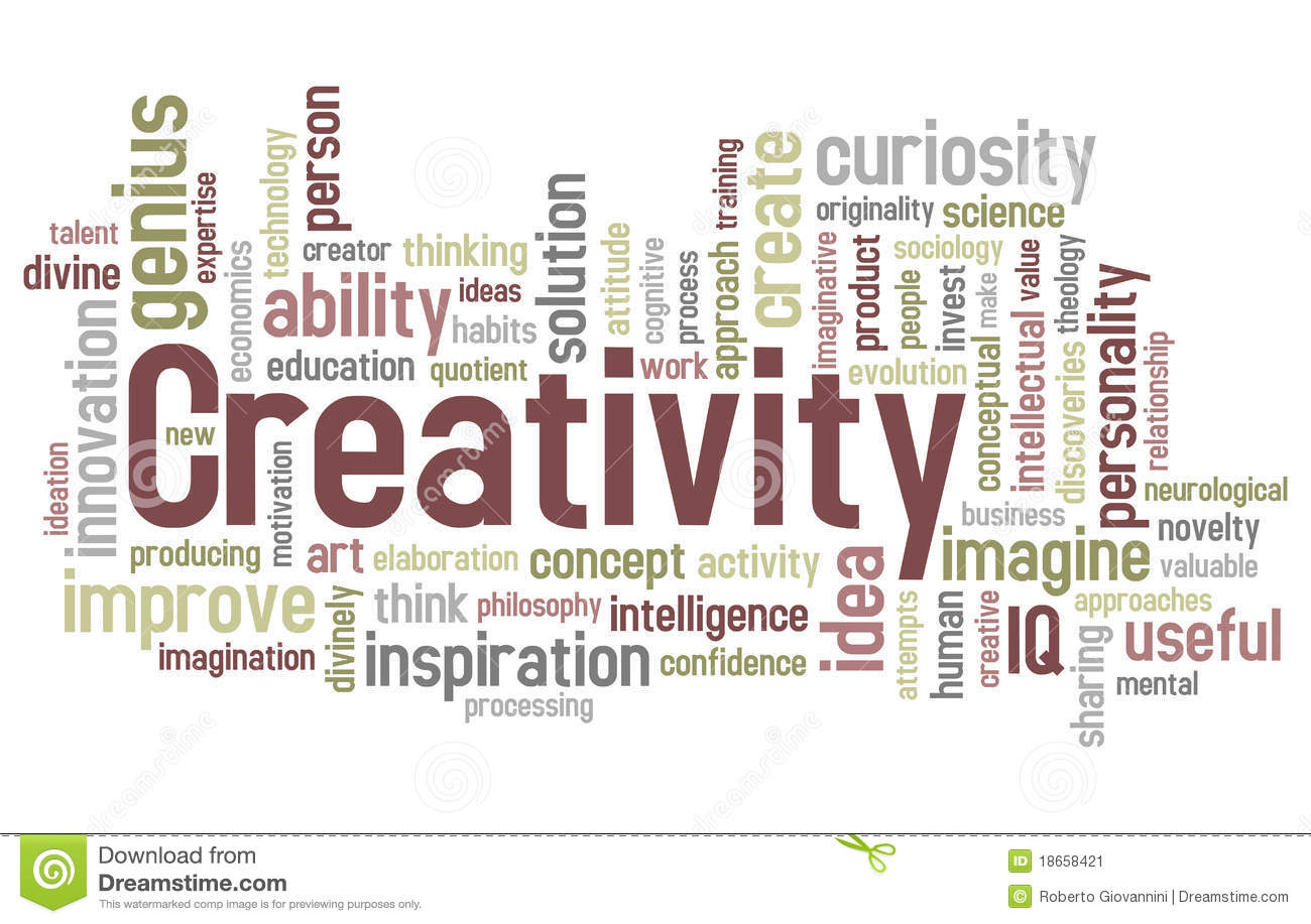 creativity creativity genius in papers publication research selected