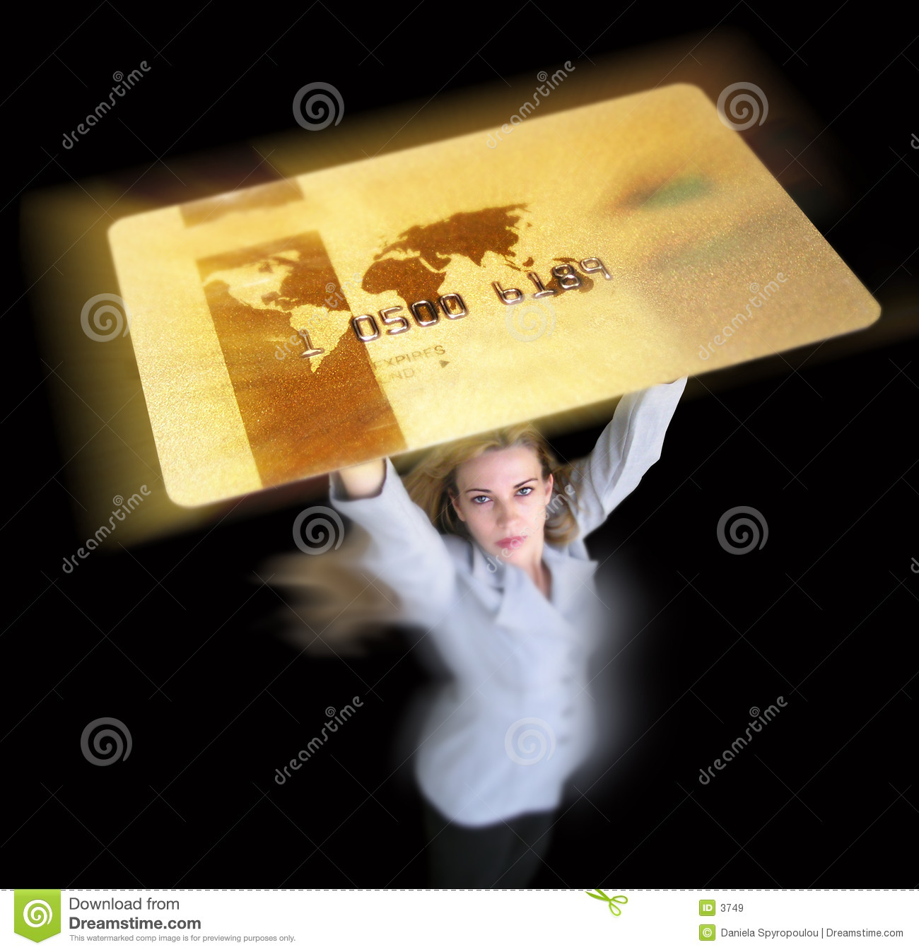 Download Credit card stock image. Image of business, businesswoman - 3749
