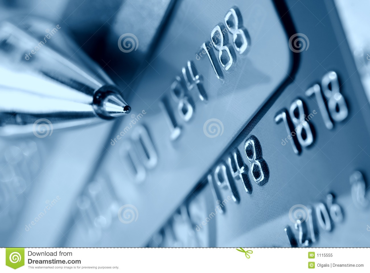 Credit Card Background Royalty Free Stock Photo Image