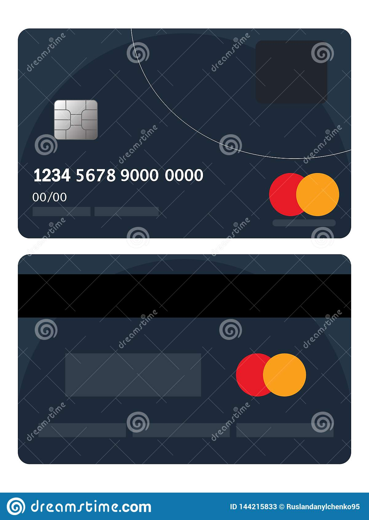 Credit Card Offers For Bad Credit >> Credit Card Badge Vector Bad Credit Card Badge Flat Design