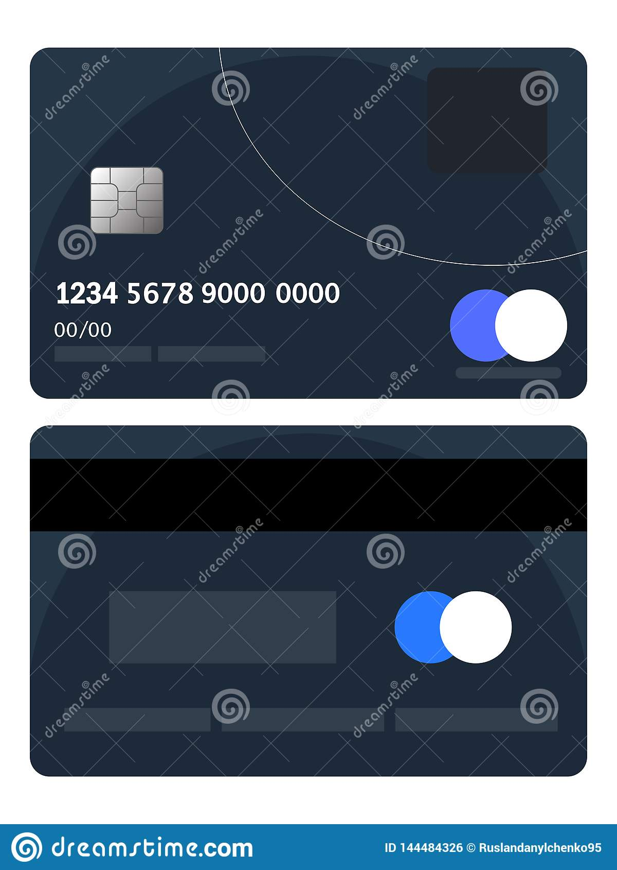 Credit Card For Bad Credit >> Credit Card Badge Vector Bad Credit Card Badge Flat Design