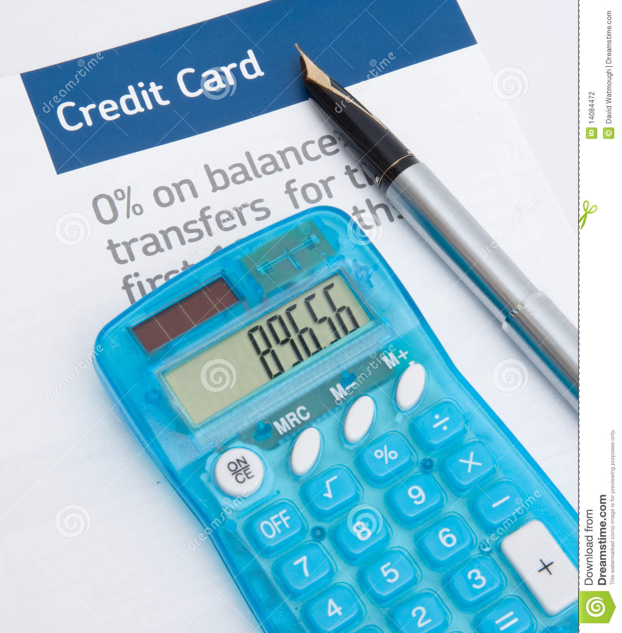 Credit card balance transfer stock photo image of debt score download comp reheart Gallery