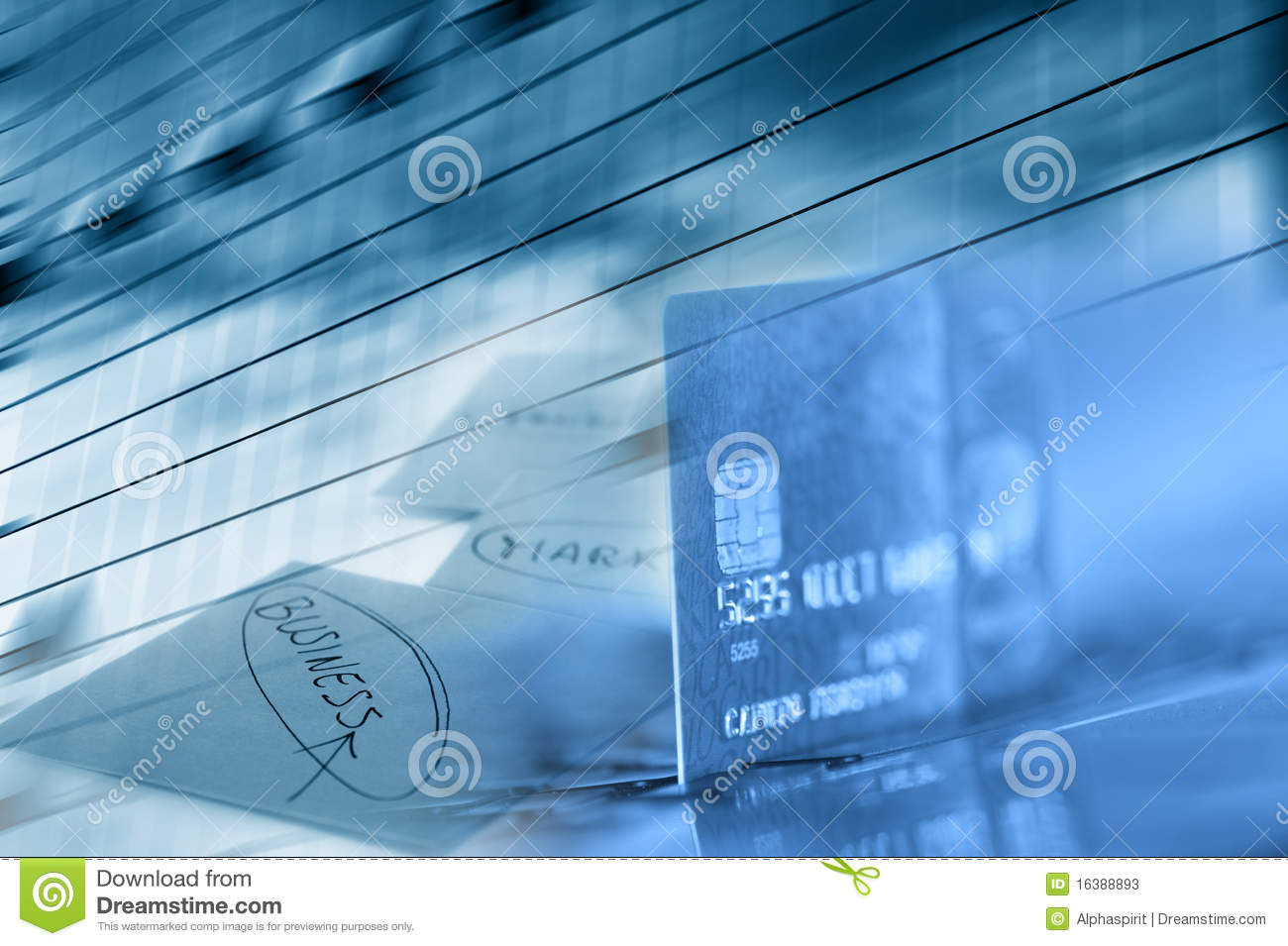 Credit Card Business Background Stock s Image