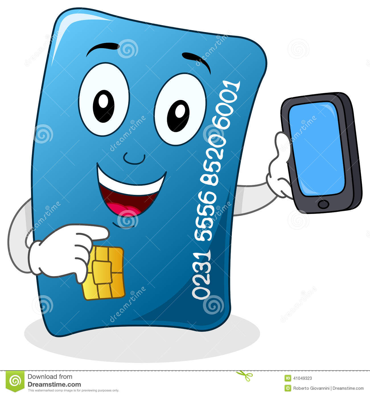 credit card with cell phone character stock vector cell phone clip art free images cell phone clip art free images