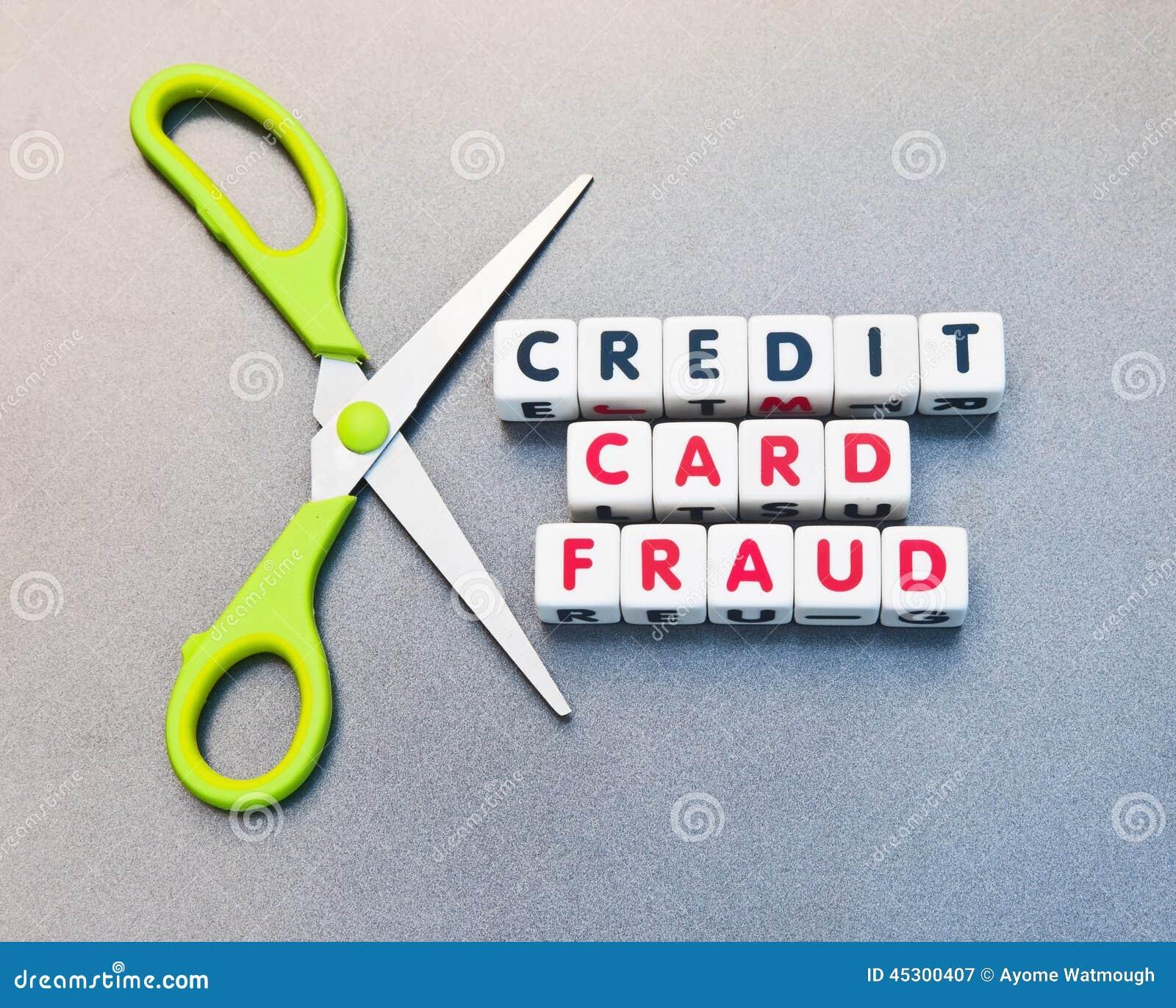 Credit Card Fraud Stock Photo Image 45300407